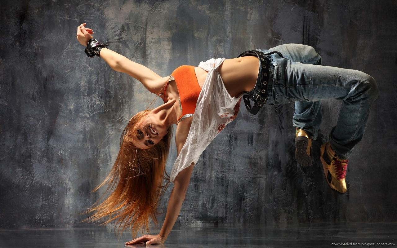 Hip hop dancing